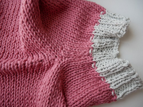 8.pantalon tricoté
