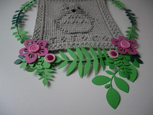 11. DIY knitting totoro craft
