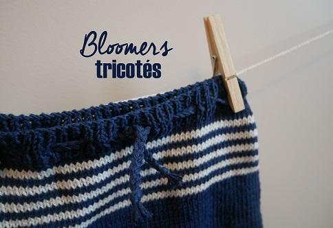 Bloomer d'Arthur au tricot