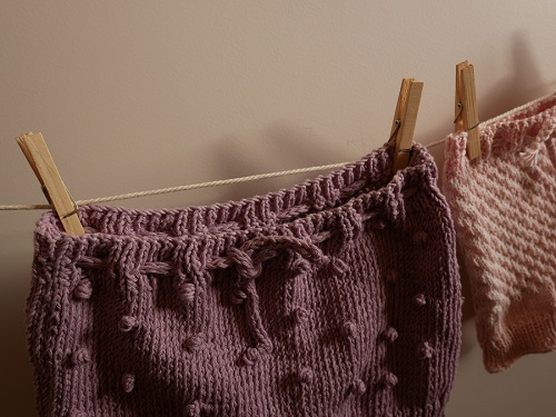 Bloomers fille au tricot 14