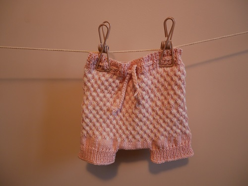 Bloomers fille au tricot 20