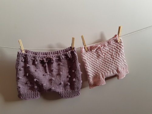 Bloomers fille au tricot 21