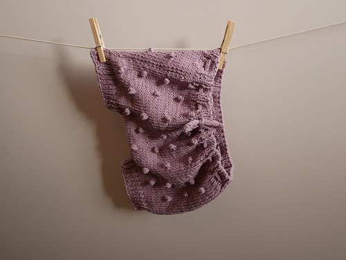 Bloomers fille au tricot 22