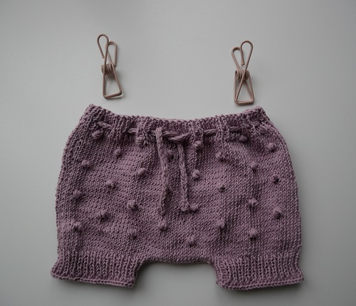 Bloomers fille au tricot 5