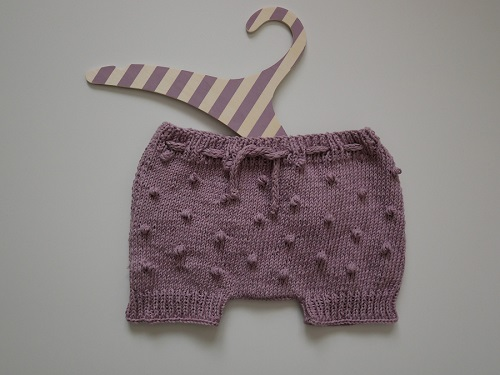 Bloomers fille au tricot10