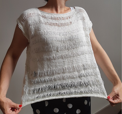2.tricot- pull ete ajoure