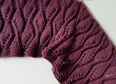 coverture tricot PRIMAVERA 1
