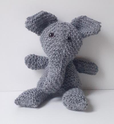 Elephanteau tricoté