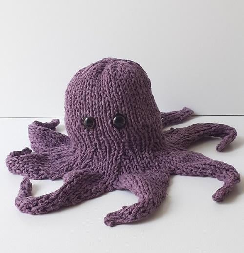 pieuvre tricotée