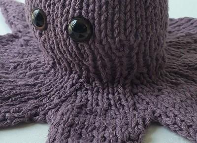 pieuvre tricotée 4
