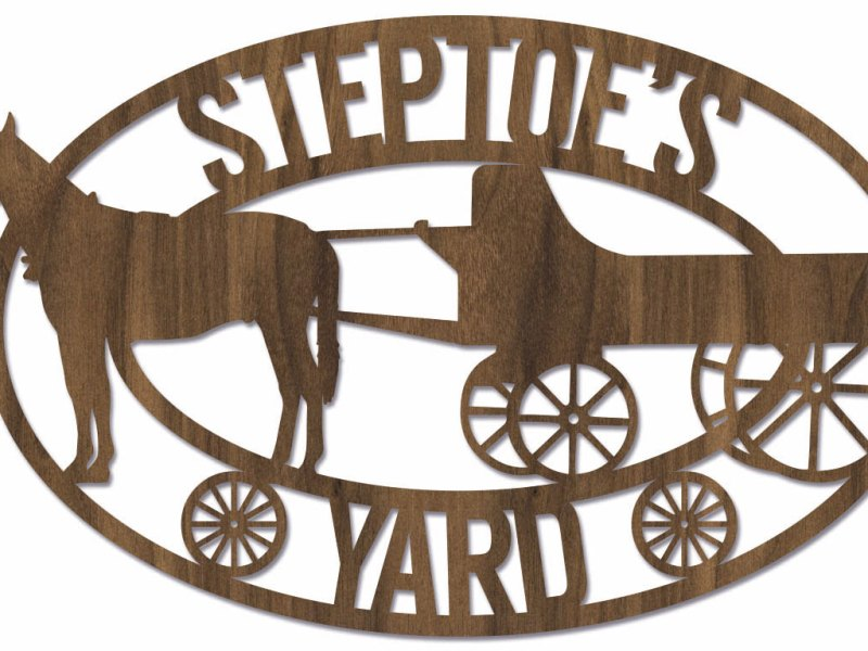 Steptoe's Yard Sign