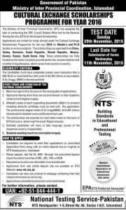 nts scholarships2016
