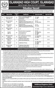 islamabad-high-court-jobs
