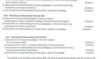 Download sindh school education department JEST SST ECT Teacher