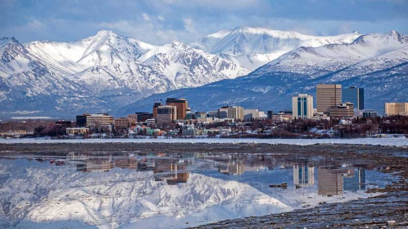 Anchorage, Alaska skylilne