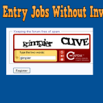 Online Captcha Entry Jobs Without Investment Download FREE Software