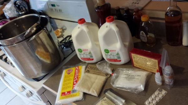 Cheesemaking supplies