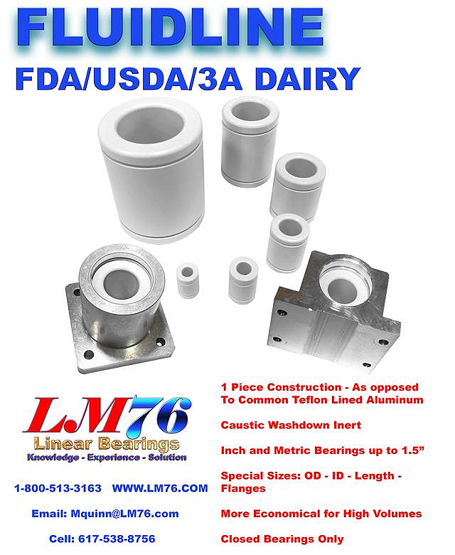 Linear Motion - Fluidline Linear Motion Bearings