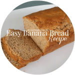 Easy Moist Banana Bread Recipe