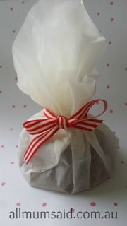 Wrapped cookies gift