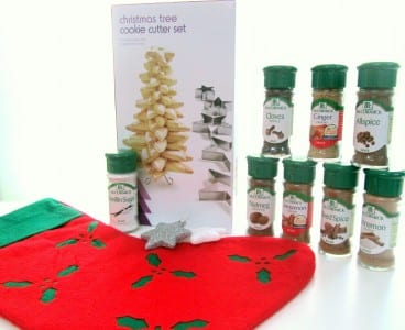 McCormick spices for Christmas cookies