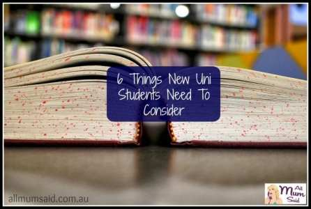 Things New Uni Students Need To Consider