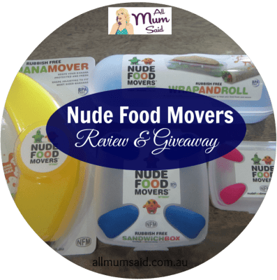 nude food movers review | All Mum Said