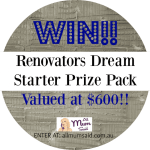 Gyprock Sensitive Renovators Giveaway!