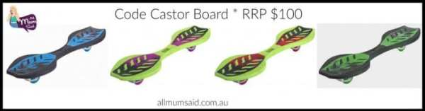 christmas giveaway 2015 code castor board