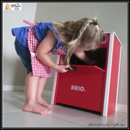 Brio red stove review