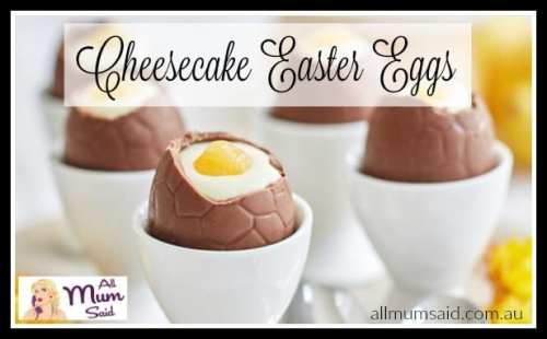 cheesecake easter eggs recipe