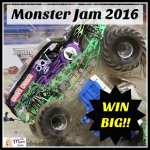 Monster Jam 2016 – Expect The Unexpected + Giveaway