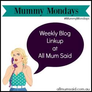 Mummy Mondays linkup