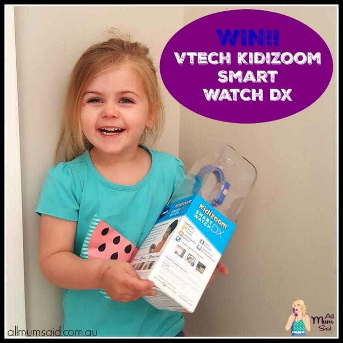 WIN!! Vtech Kidizoom Smart Watch DX for XMAS