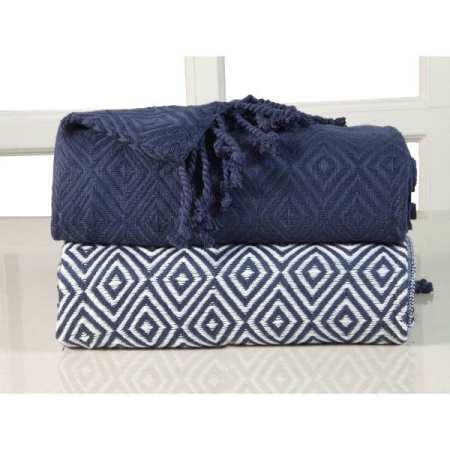 blue lounge throw blankets | affordable interior decorating