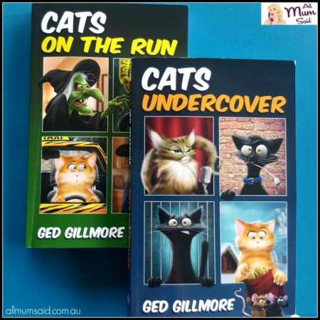 Ged Gillmore Cats on the run & cats undercover