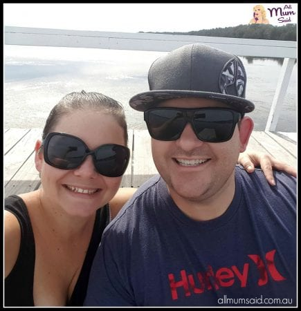 Us - happy couple on Long Jetty