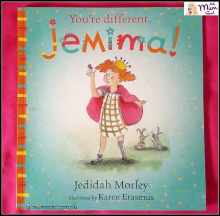 Empowering Resources You're Different Jemima book review | educational books | empower