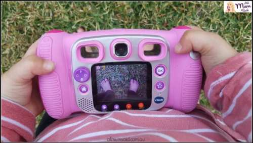 preschool vtech camera close up