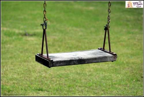 stranger danger for kids empty swing