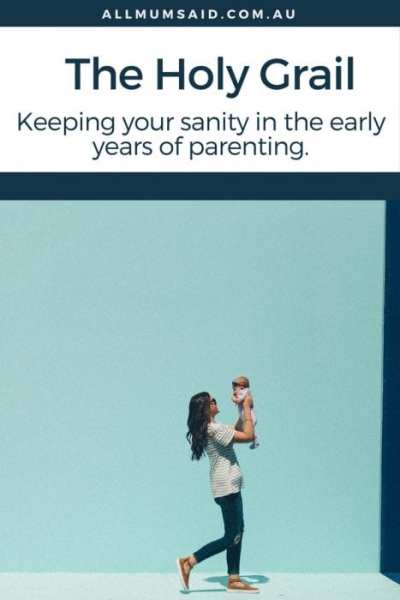 mum and baby walking down street | Early years of parenting