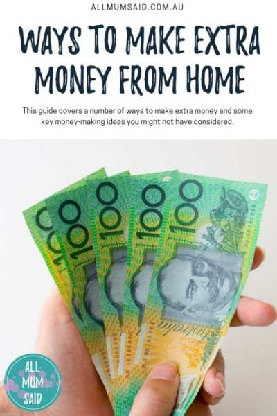 All Mum Said - Ways To Make Extra Money From Home #Work #Money #Tips