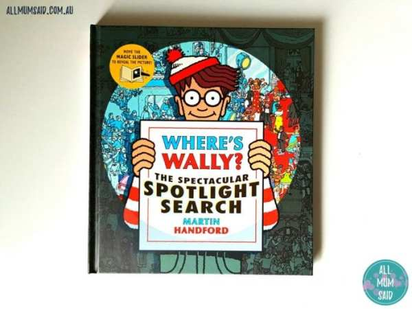 Where's Wally The Spectacular Spotlight Search book