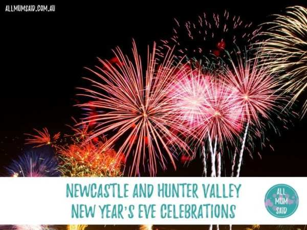 Free Newcastle and Hunter Valley New Year's Eve Celebrations
