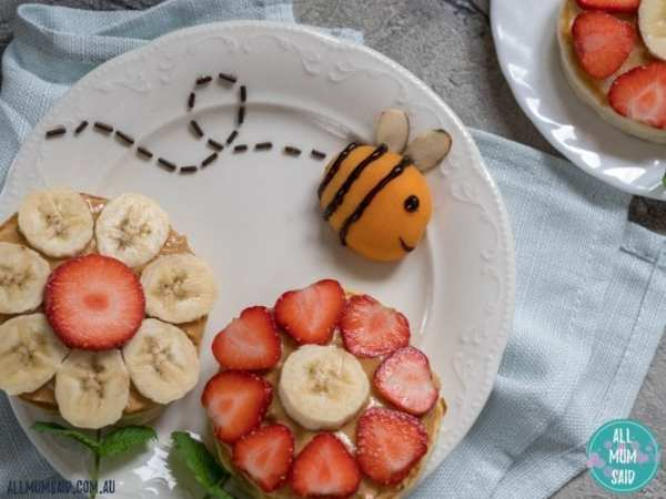fun kids snack bento