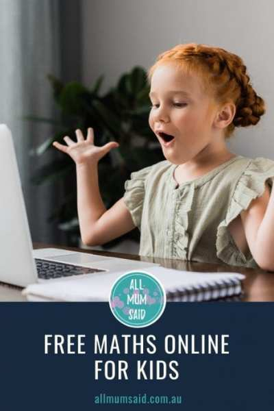 All Mum Said - Free Maths Online For Kids