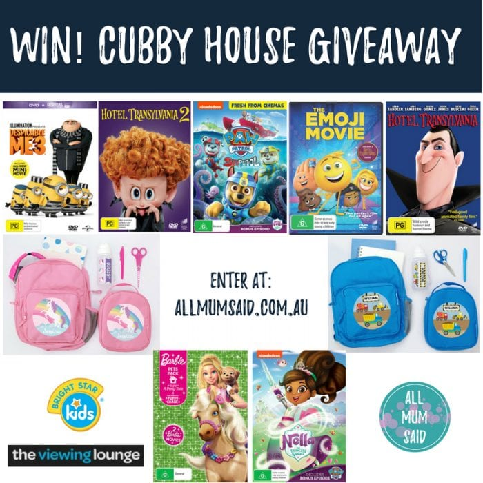 The Cubby House + Bright Star Kids Giveaway