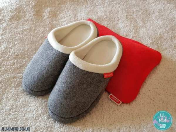 Archline orthotic slippers slip-ons with hotpod