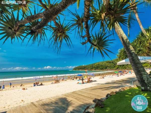 Main beach Noosa | things to do in Noosa with kids