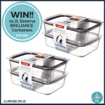 Sistema Brilliance Containers Review + Giveaway